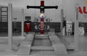 Четырехкамерный стенд развал схождения HUNTER 3D
